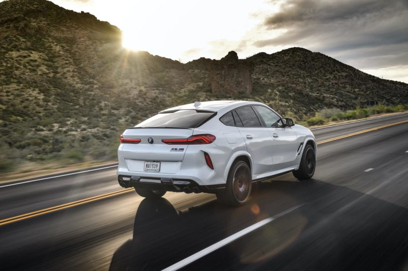 2020 BMW X6M Competition Mineral White 30 830x553