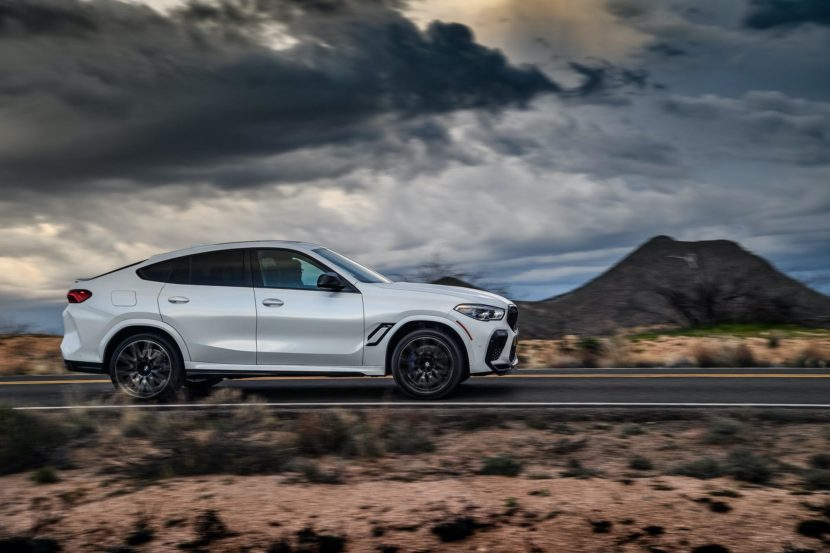 2020 BMW X6M Competition Mineral White 38 830x553
