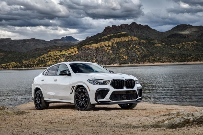 2020 BMW X6M Competition Mineral White 54 830x553