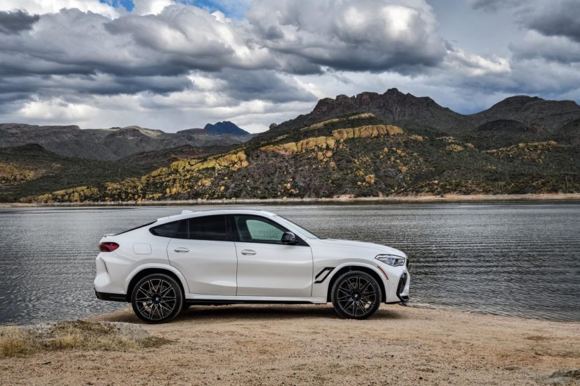 2020 BMW X6M Competition Mineral White 62 830x553