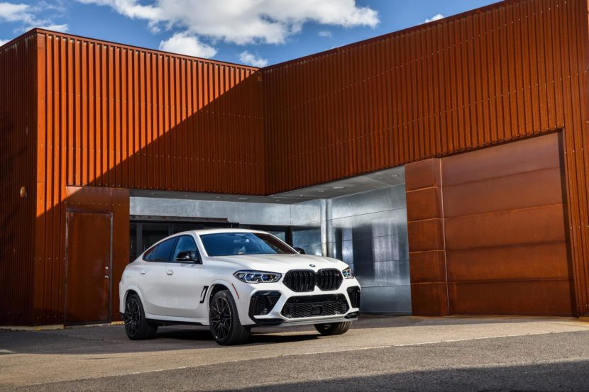 2020 BMW X6M Competition Mineral White 68 830x553