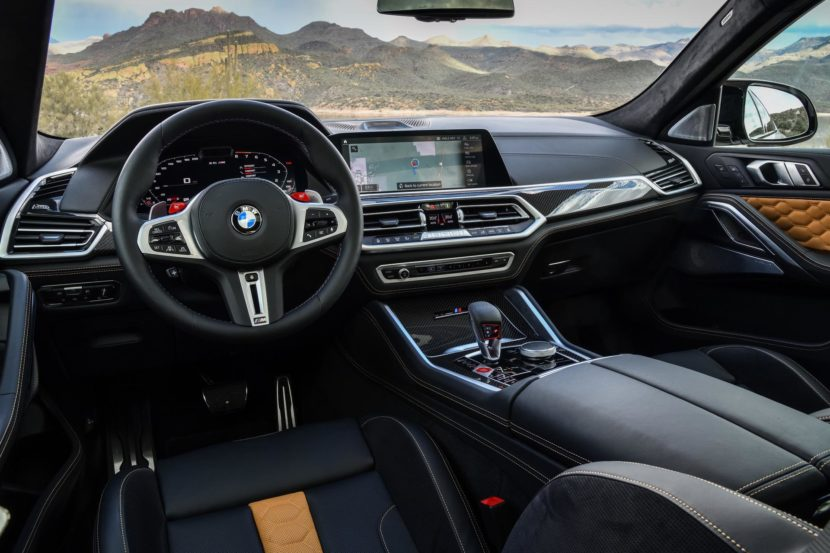 2020 BMW X6M Competition Mineral White 85 830x553