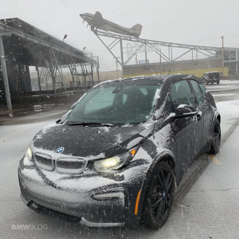 2020 BMW i3 winter test drive review 03 830x830