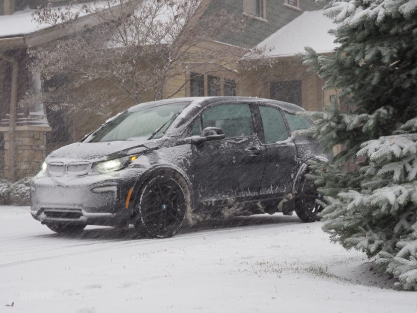2020 BMW i3 winter test drive review 09 830x623