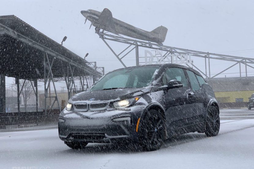 2020 BMW i3 winter test drive review 12 830x553