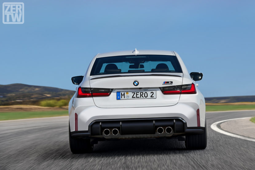 2021 BMW M3 Competition G80 Rendering zer o wt 830x553