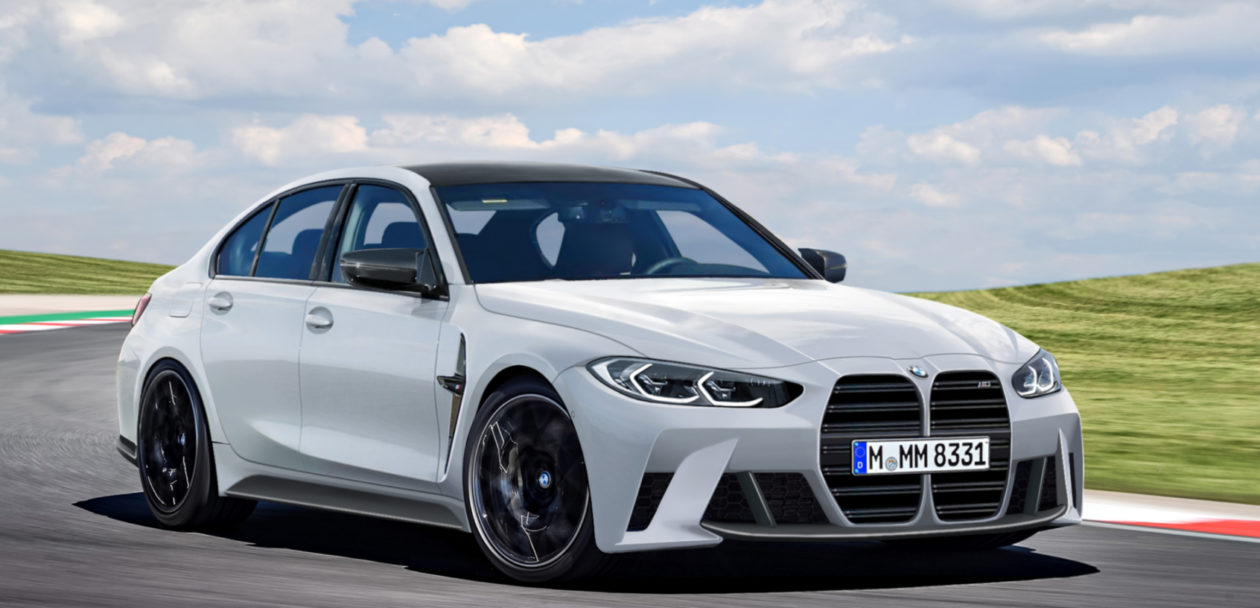 2021 BMW M3 Sedan photoshop 1260x608
