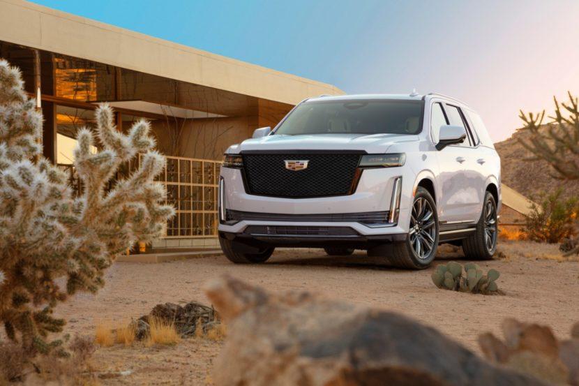 2021 Cadillac Escalade 046 830x553