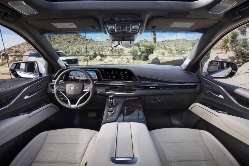 2021 Cadillac Escalade 068 830x553