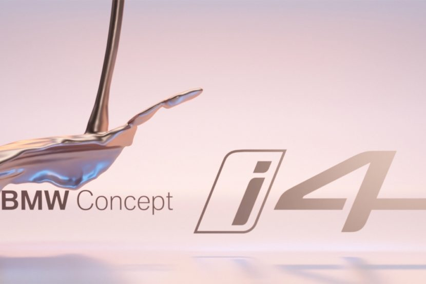 BMW Concept i4 Official Teaser 830x553