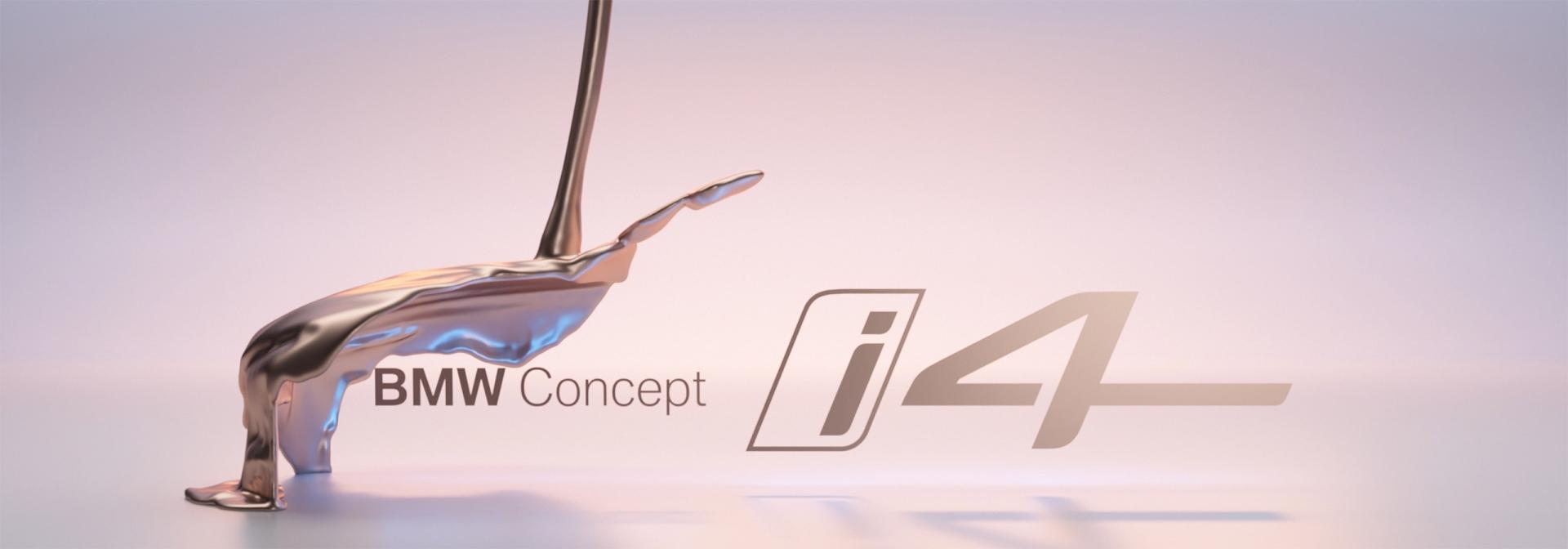 BMW Concept i4 Official Teaser