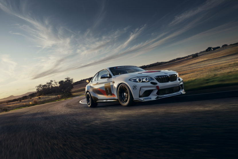 BMW M2 CS Racing makes racing debut in North America 1 830x553