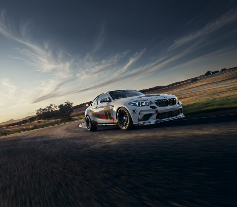 BMW M2 CS Racing makes racing debut in North America 1 830x723