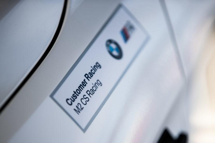 BMW M2 CS Racing makes racing debut in North America 4 830x553