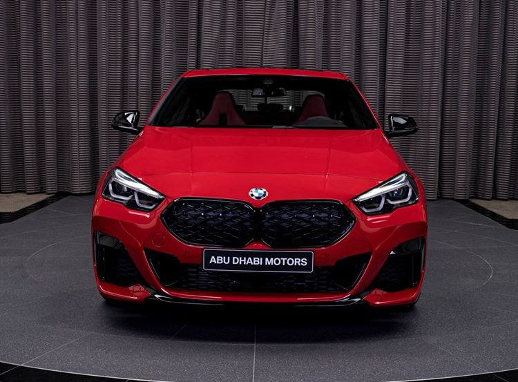 BMW M235i xDrive Gran Coupe showcased in Melbourne Red metallic