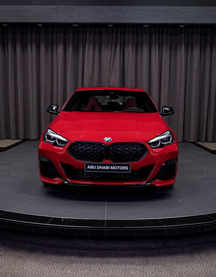 BMW M235i xDrive Gran Coupe showcased in sensational Melbourne Red metallic