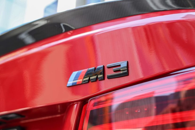 BMW M3 Competition Imola Red 5 830x553