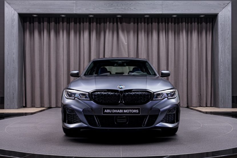 BMW M340i xDrive First Edition in Frozen Dark Grey 1 830x553