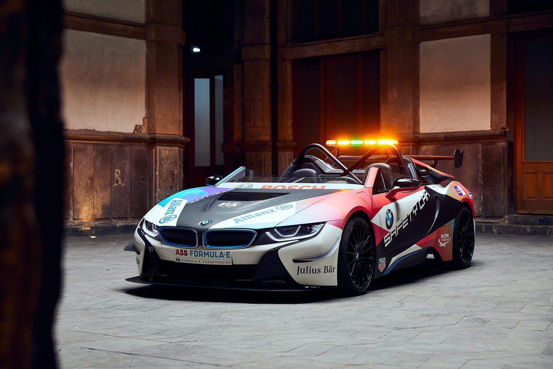 BMW i8 Roadster Formula E Safety Car (Front)