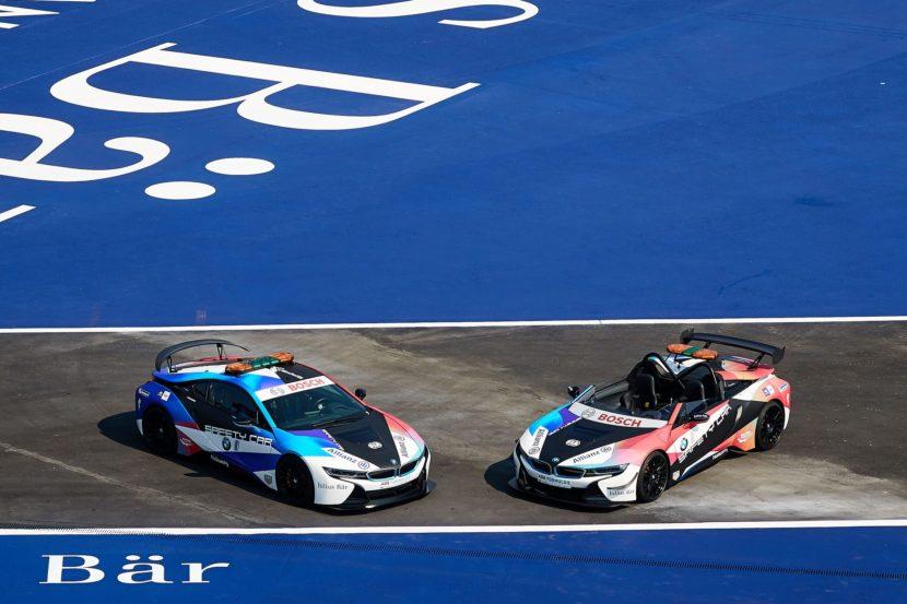BMW i8 safety cars formula e 12 830x553