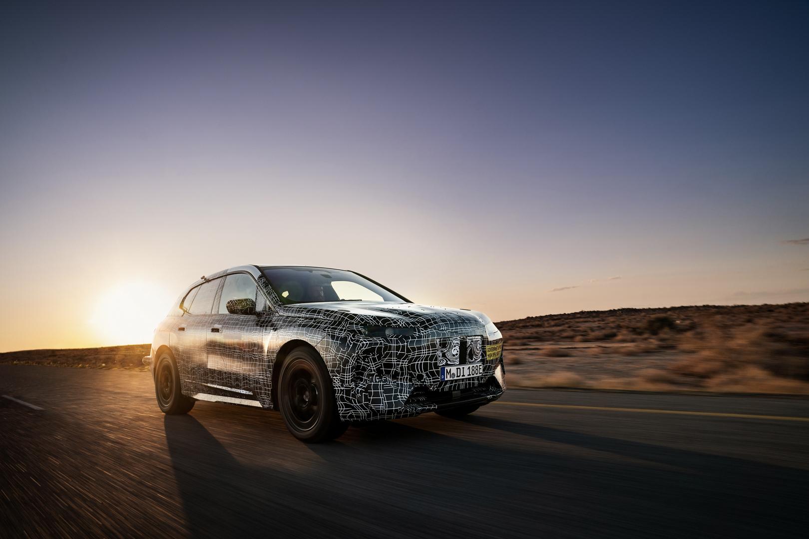 BMW iNEXT Kalahari Testing 1