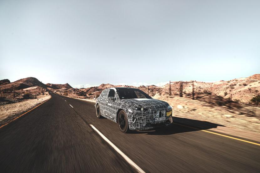 BMW iNEXT Kalahari Testing 2 830x553