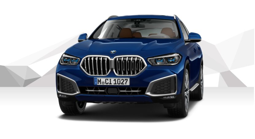 Tanzanite Blue II BMW X6 xDrive30d G06 5 830x452