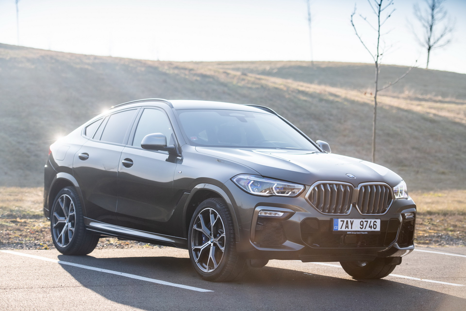The new BMW X6 M50i Czech Republic launch 26
