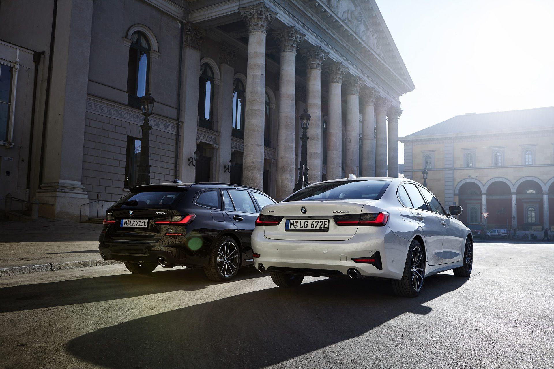 BMW launches 3 new hybrids: 330e Touring, 330e Touring xDrive and 330e Sedan xDrive