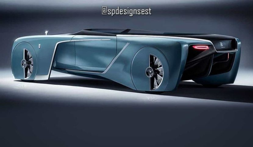 rolls royce 103ex vision 100 looks amazing as a roadster 2 830x483