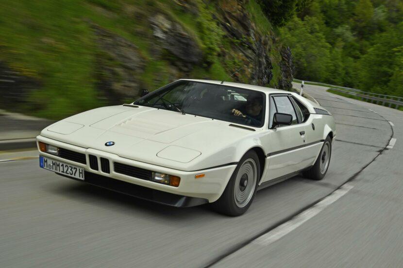 1980 BMW M1 White 29 830x553