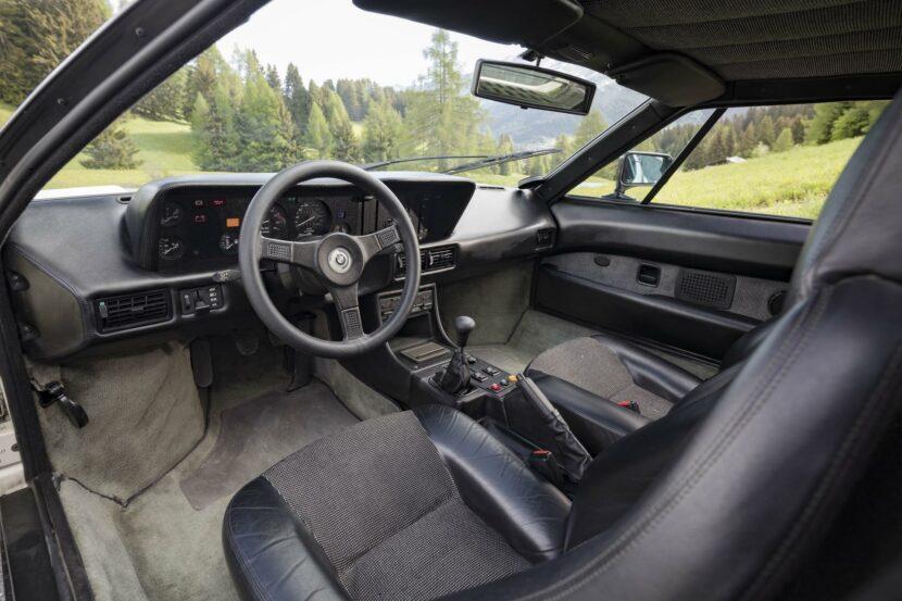 1980 BMW M1 White 53 830x553