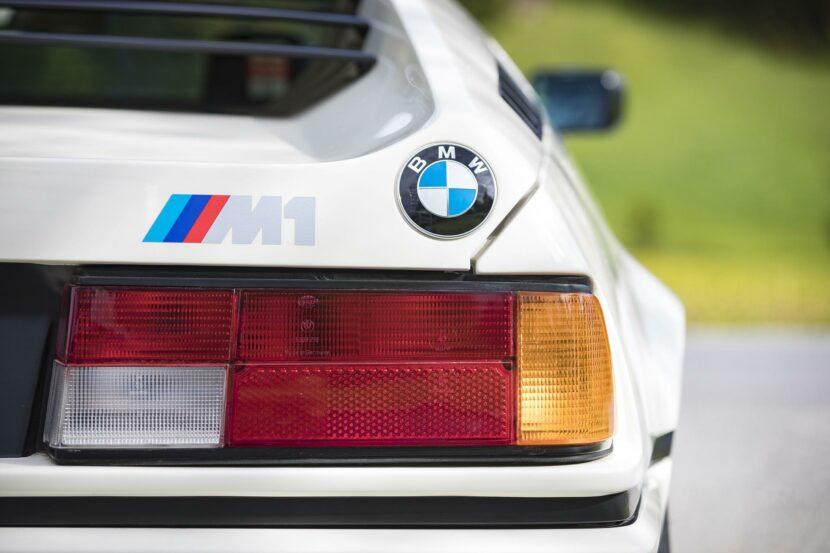 1980 BMW M1 White 56 830x553
