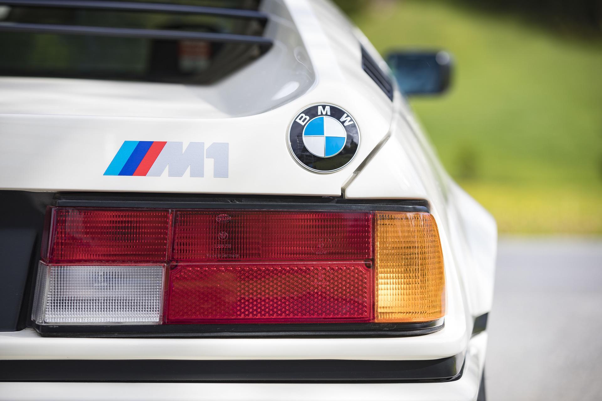 1980 BMW M1 White 56