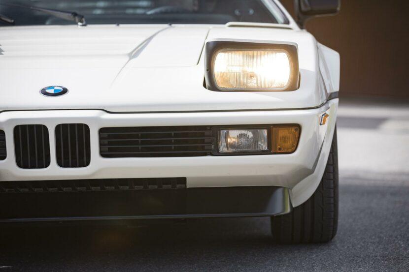 1980 BMW M1 White 57 830x553