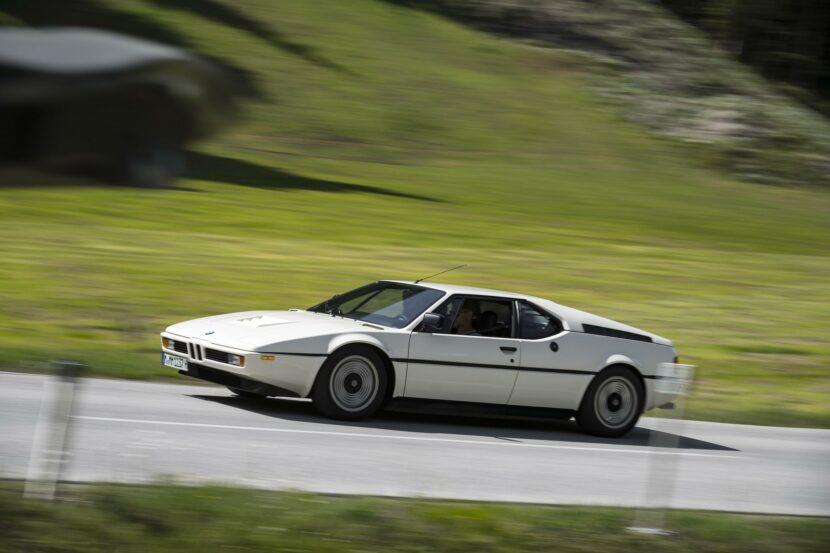 1980 BMW M1 White 63 830x553