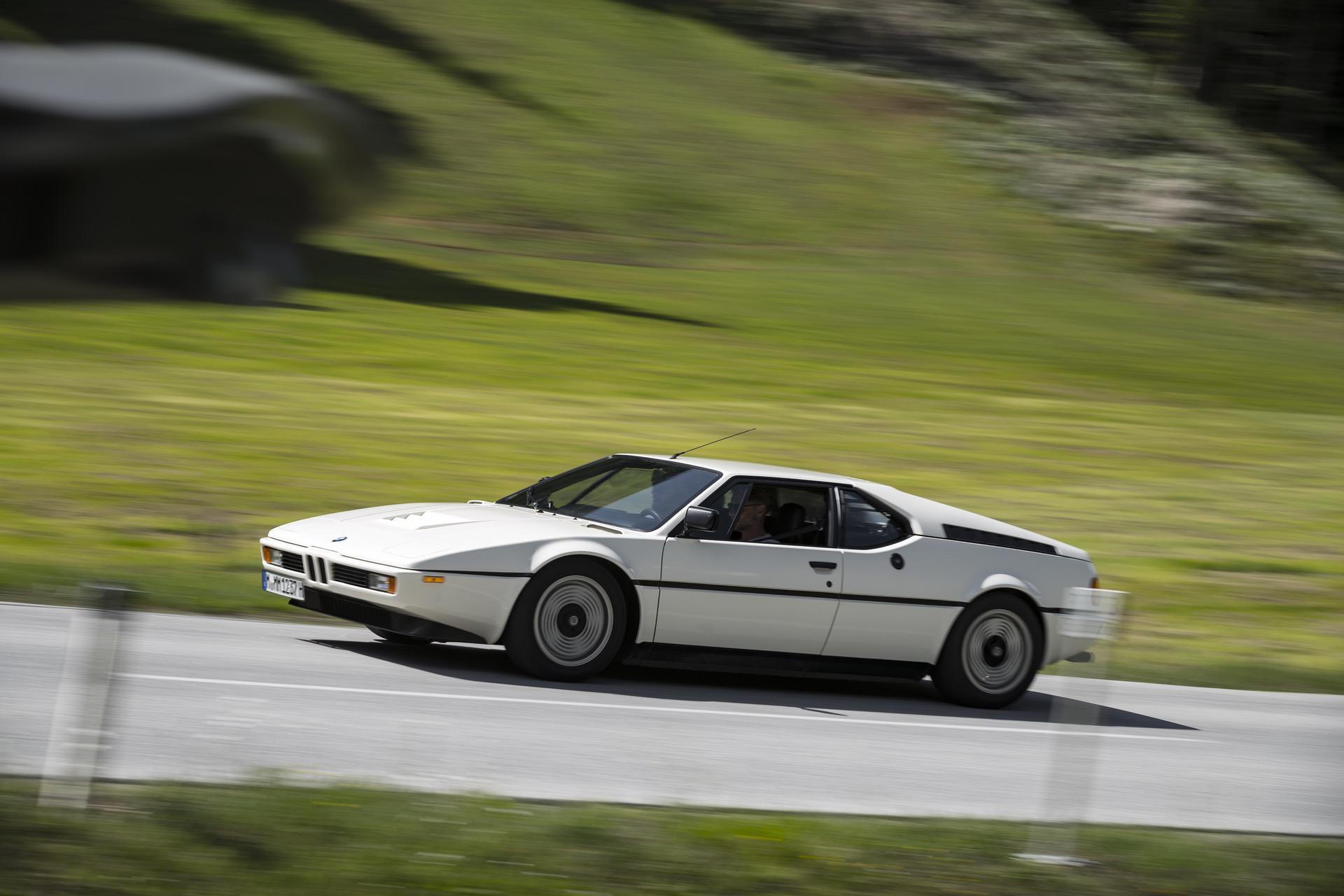 1980 BMW M1 White 63