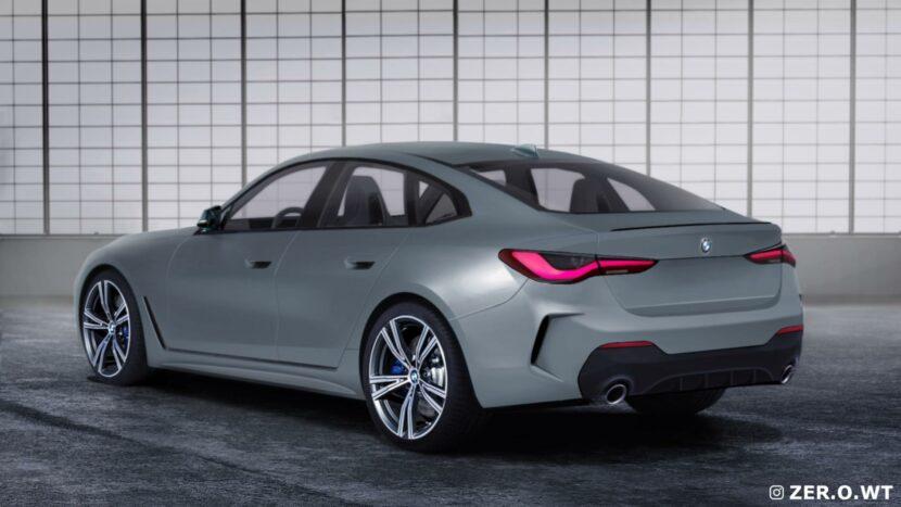 2021 BMW 4 Series Gran Coupe rear end 00 830x467