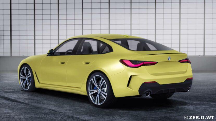 2021 bmw 4 series gran coupe gets a series of renderings