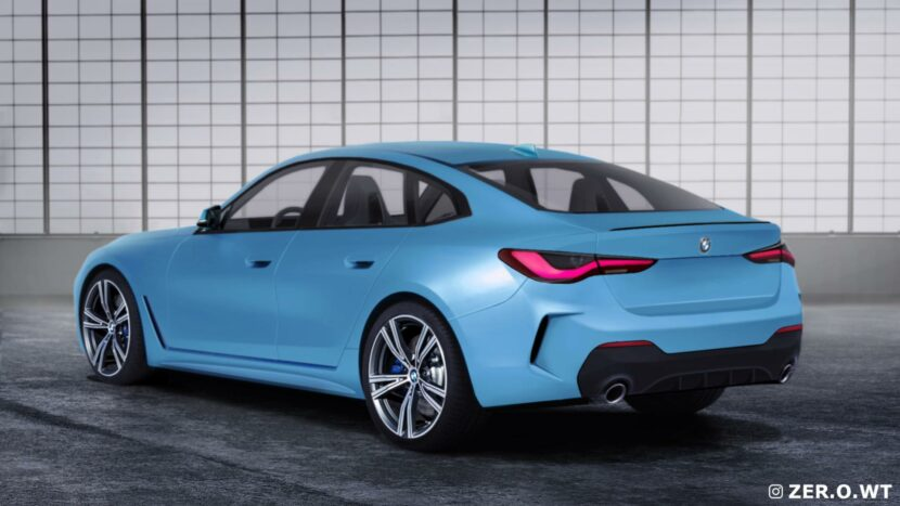 2021 BMW 4 Series Gran Coupe rear end 02 830x467