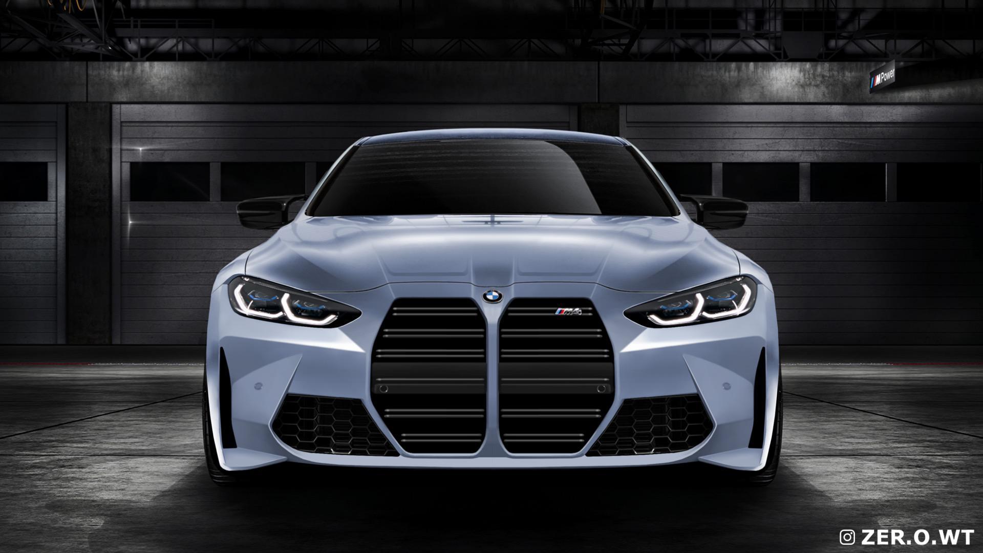 2021 BMW M4 G82 photoshopt front