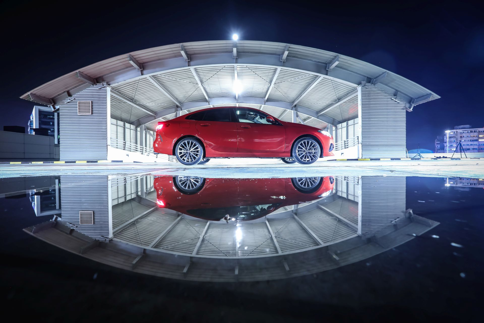 BMW 2 Series Gran Coupe Night Drive 12