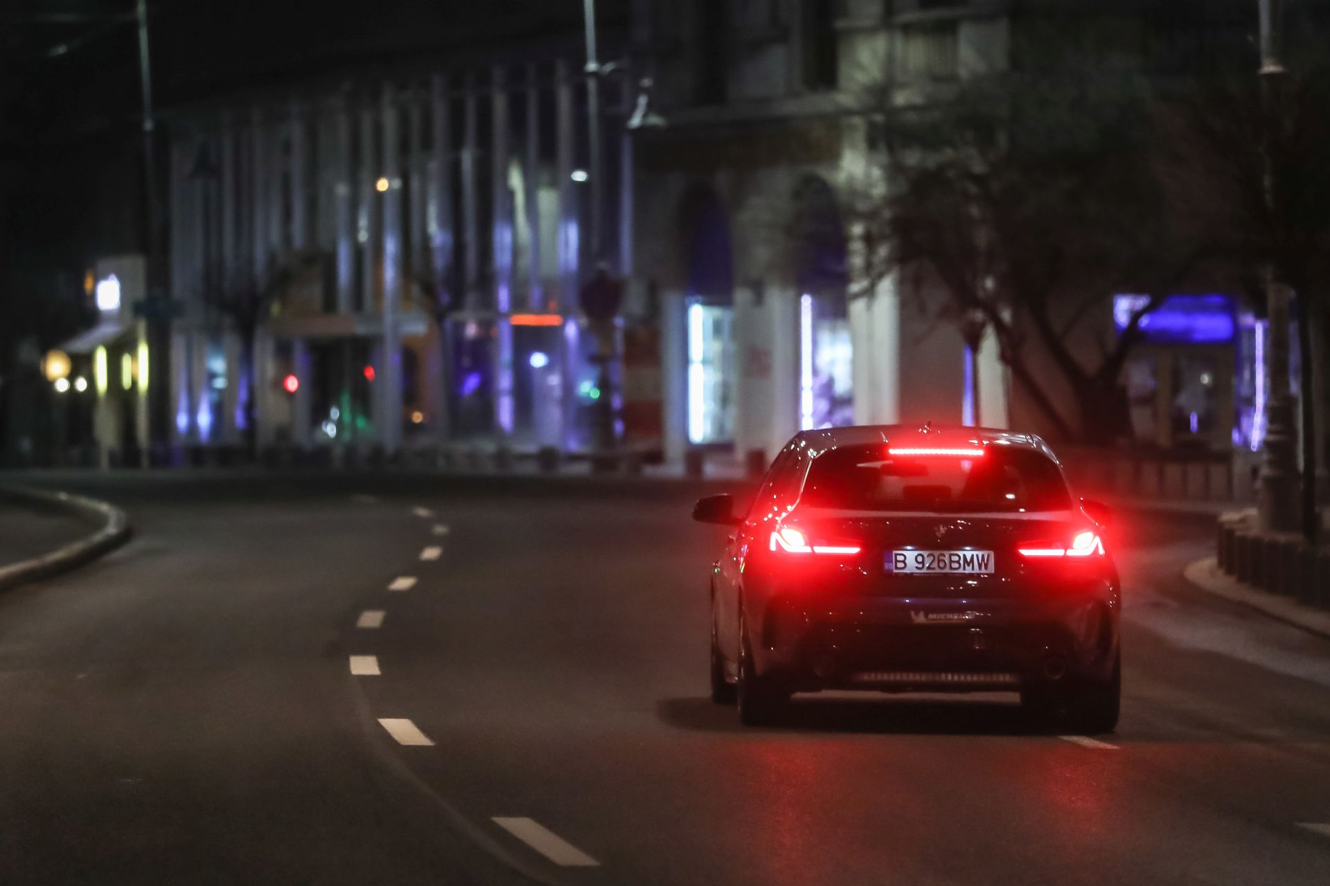 BMW 2 Series Gran Coupe Night Drive 15