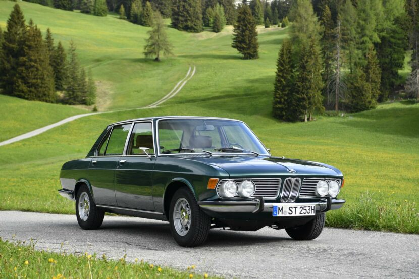 BMW 2500 1970 Tundragrun 19 830x553
