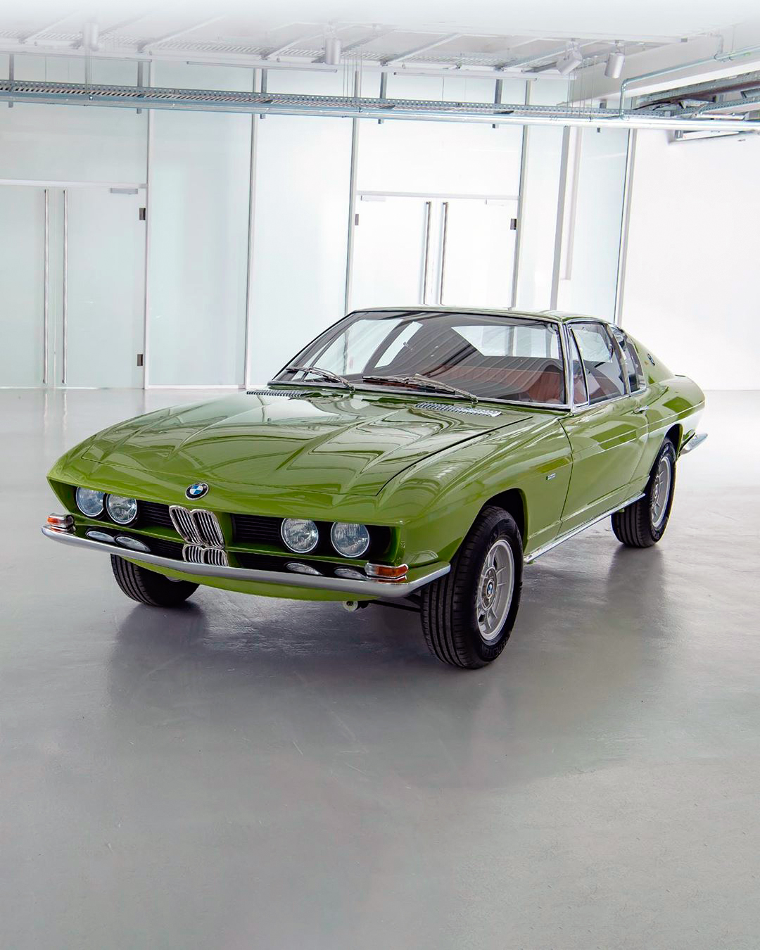 Photo Gallery: Restored BMW 2800 GTS is a blast from the past