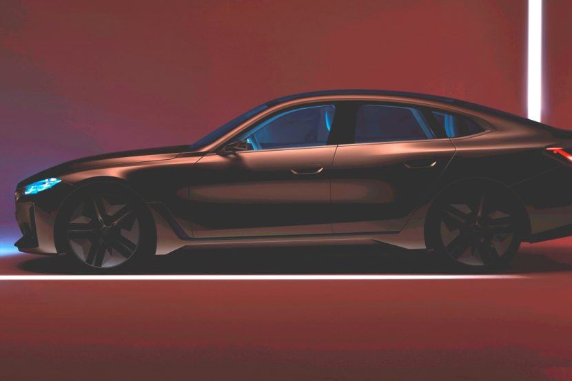 BMW Concept i4: A new teaser before March 3rd online reveal