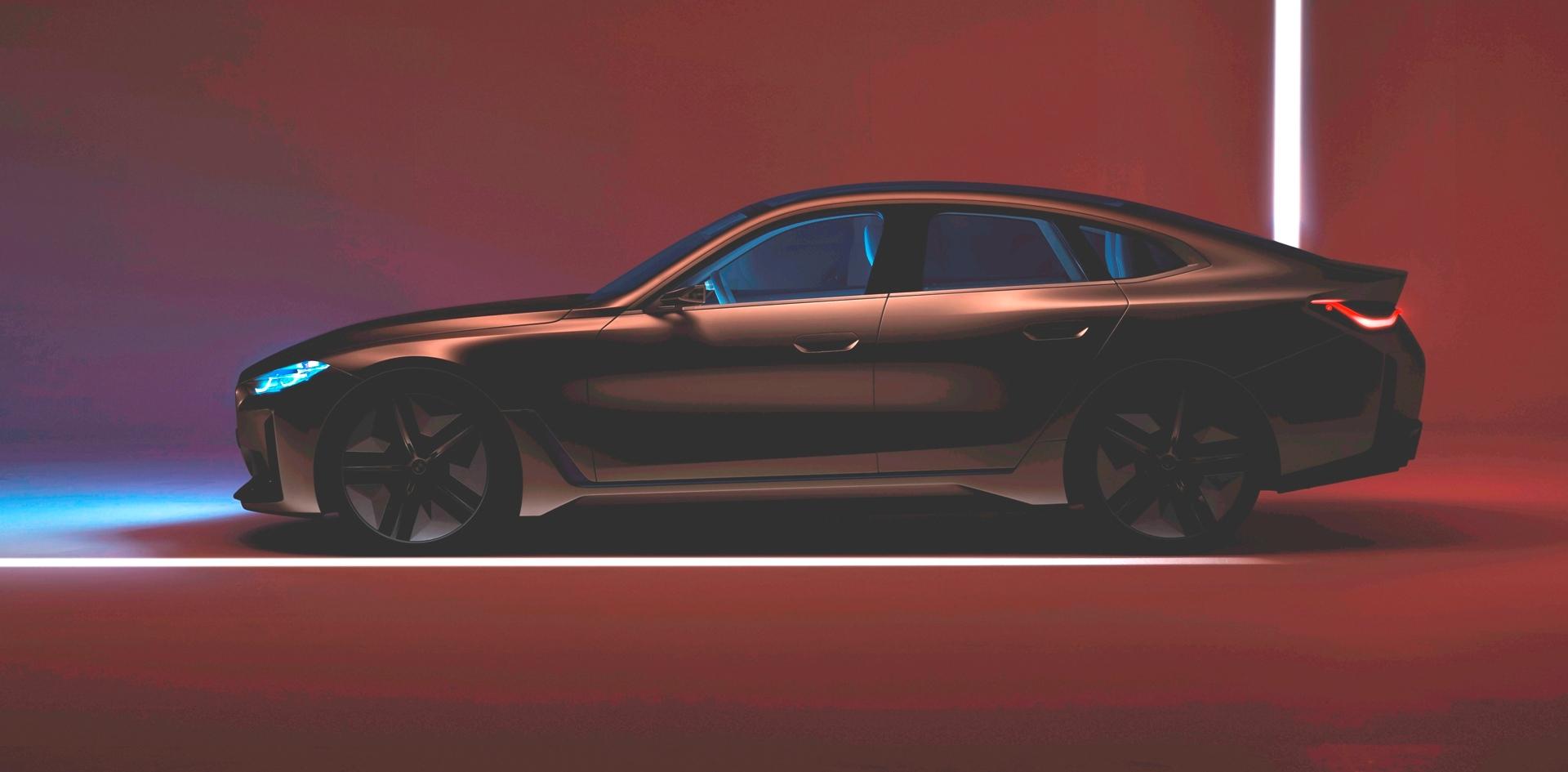 BMW Concept i4 Teaser 3