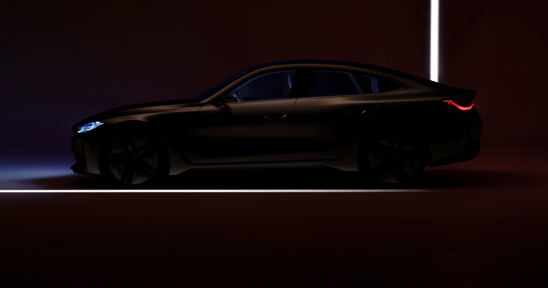 Bmw Concept I4 A New Teaser Before March 3rd Online Reveal