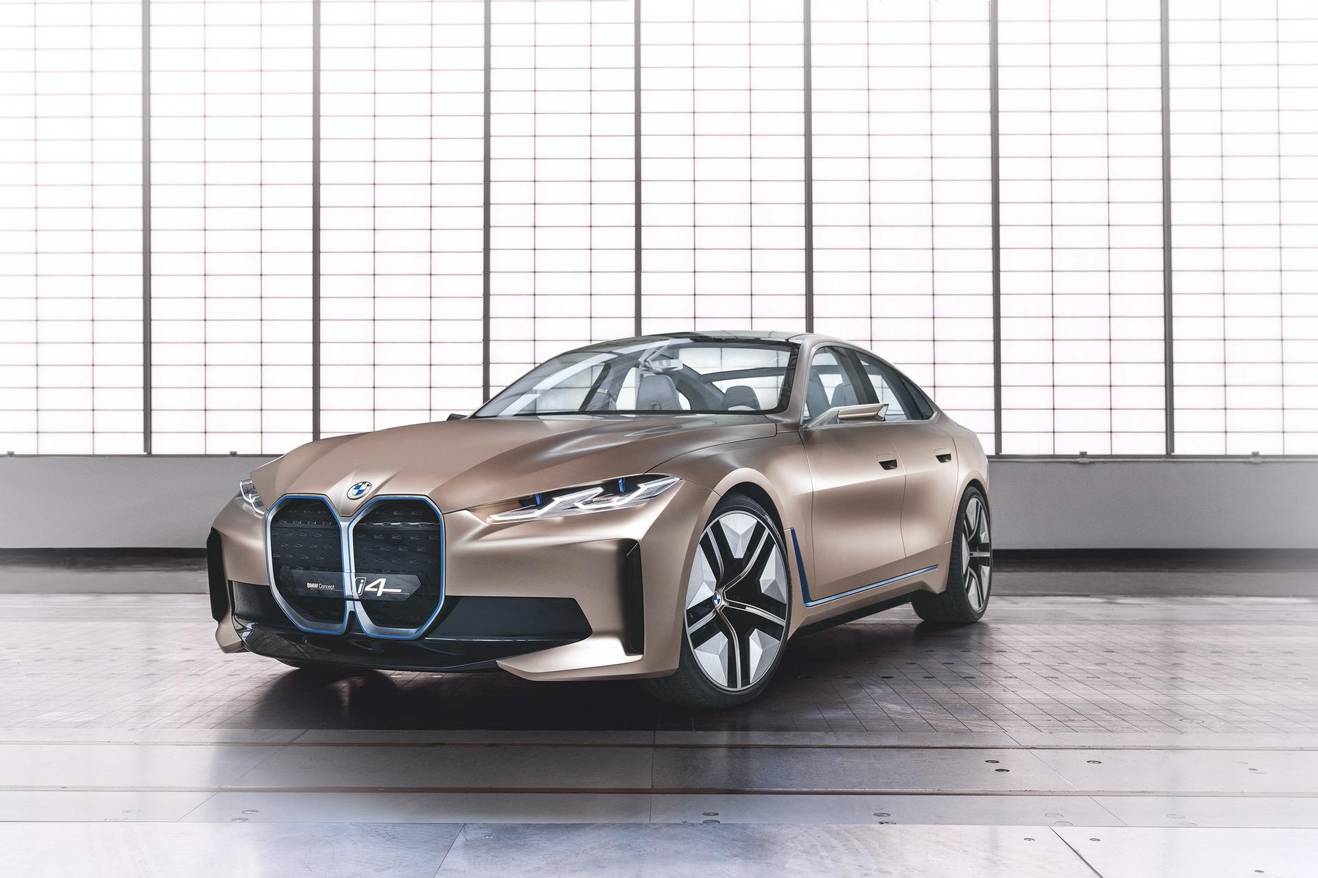 BMW Concept i4 copper color 01