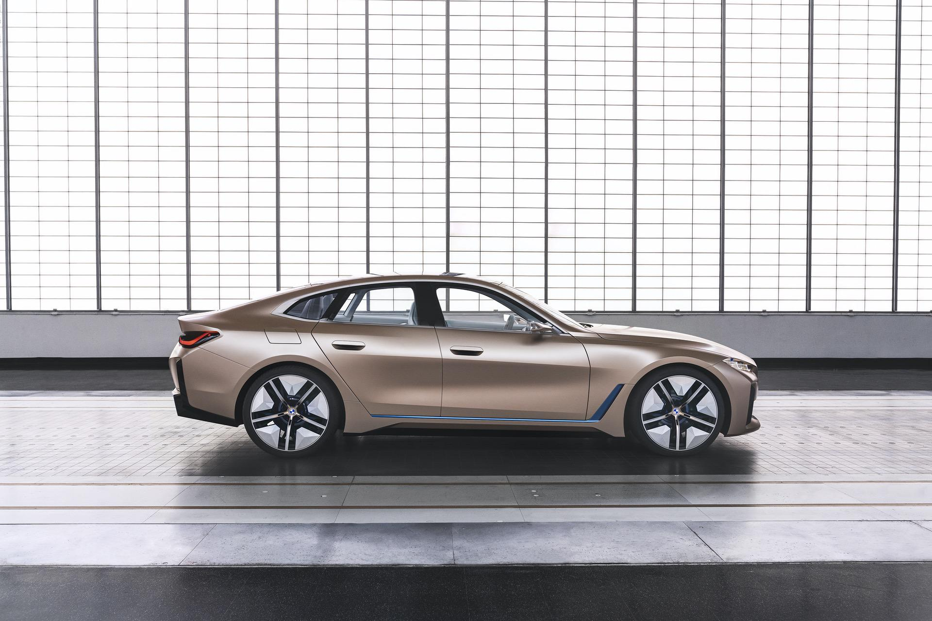 BMW Concept i4 copper color 02